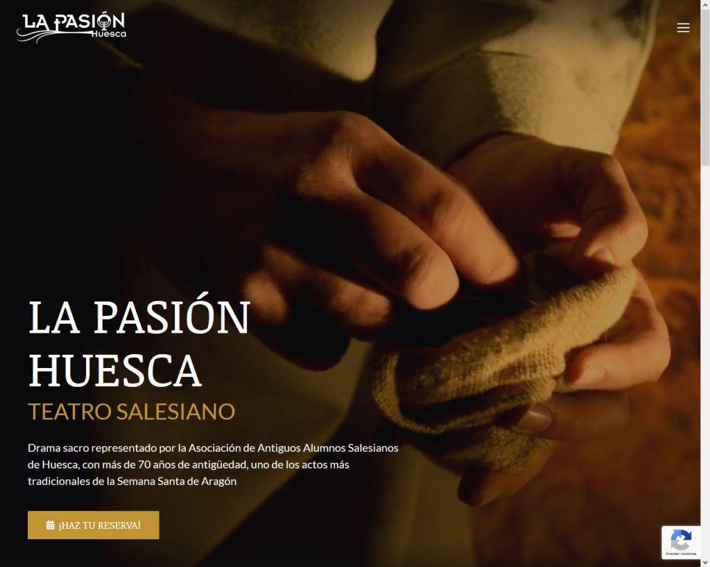 La Pasión Huesca renueva su Web adaptándola a nuestros días