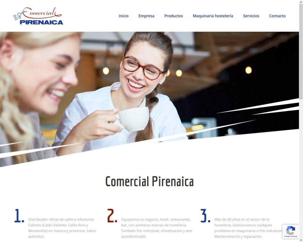 Comercial Pirenaica actualiza su Web después de 14 años