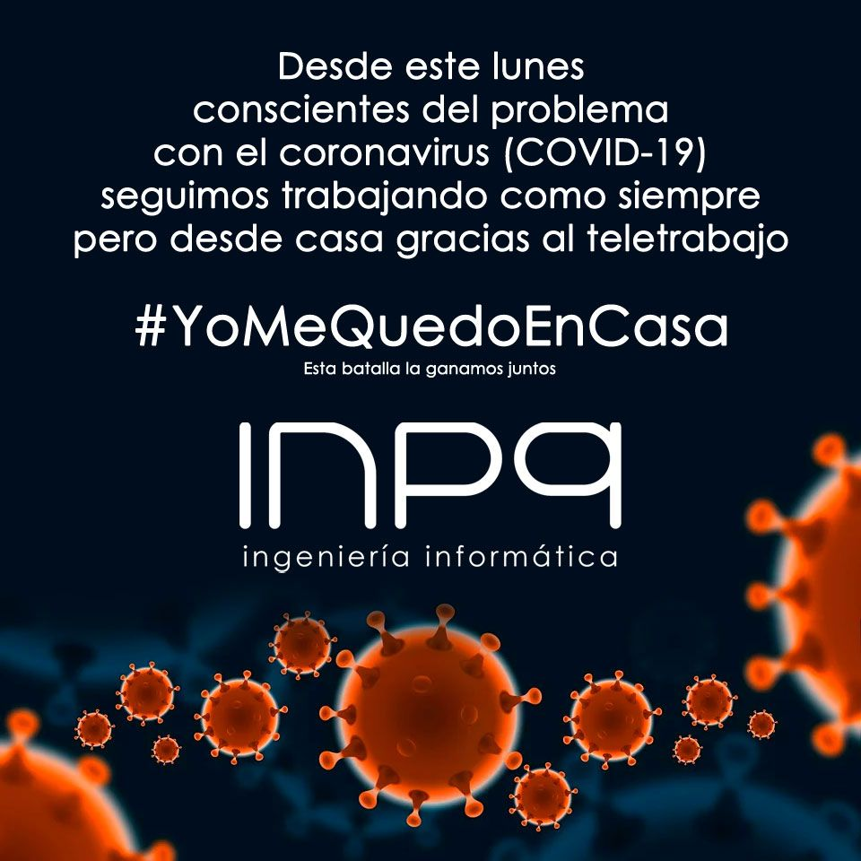 INPQ hace teletrabajo a causa del Coronavirus