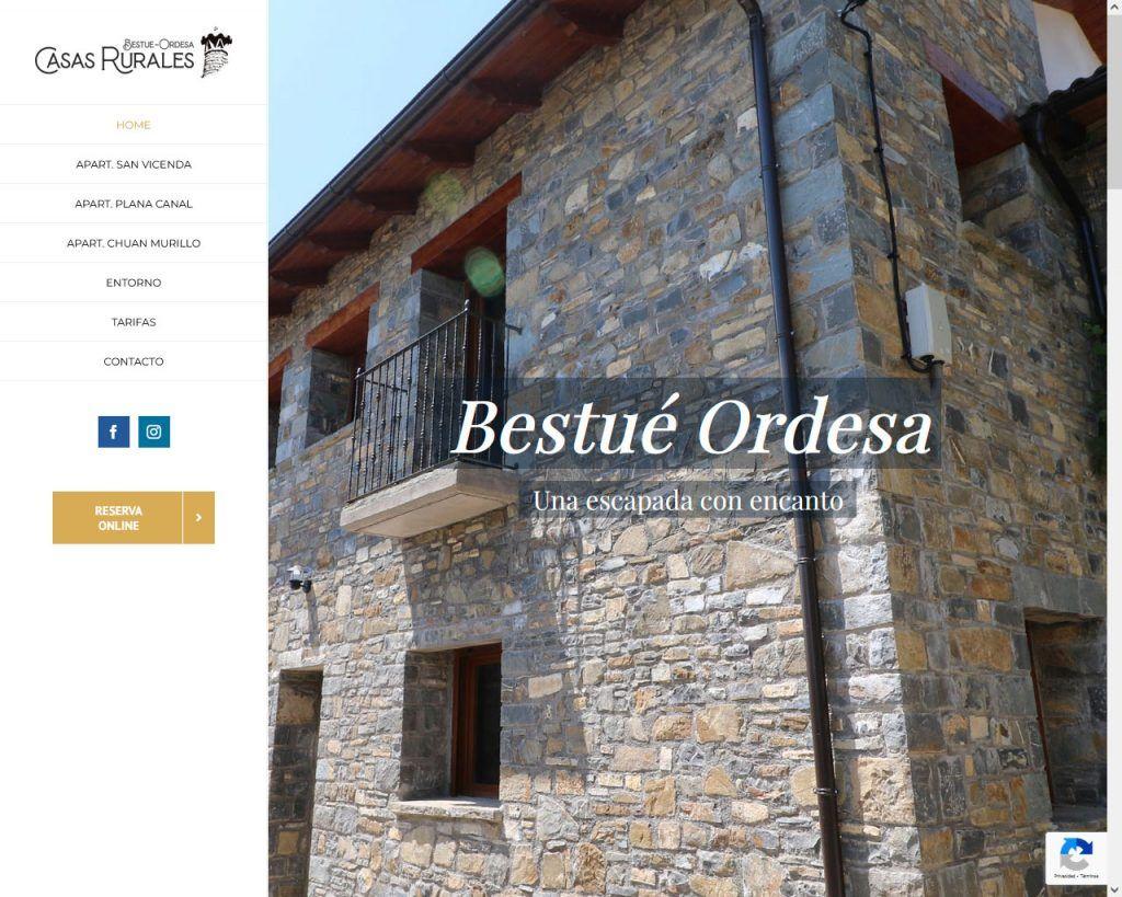Casas Bestué Ordesa, apartamentos con una visual Web
