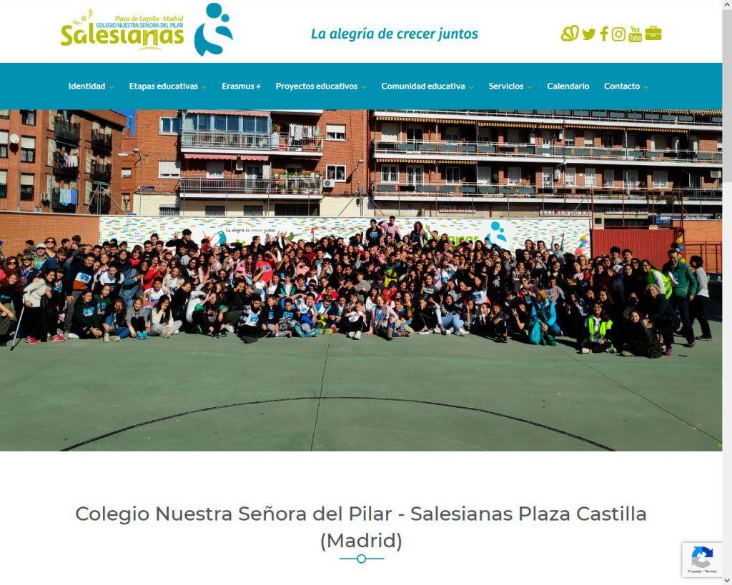 Salesianas Plaza Castilla muestra su nuevo portal Web