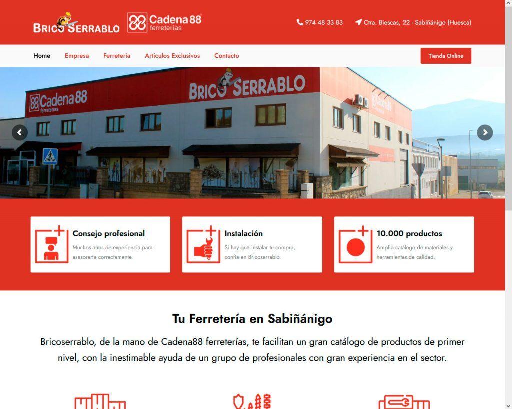 Bricoserrablo saca su buena cara con una renovada web